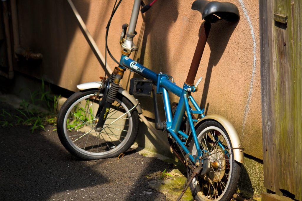 お子さま用の自転車を2台不用品回収