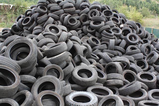 タイヤの不用品回収